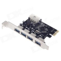 PCI-e 4 port USB3.0 card