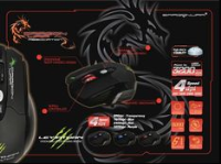 DRAGON WAR LEVIATHAN LASERGAMING MOUSE ELE-G1