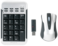 Targus W/Less Keypad AndOptical Mouse(W-PAKP003E)