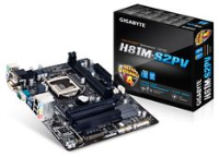 Gigabyte H81M-S2PV M-ATX Motherboard 1150