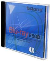 Aone Blu-Ray FullFace JewelCase Inkjet Printable 25GB