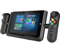 With the Linx Vision, take control and change the game with unprecedented accuracy using the unique dual-analogue controller system, giving you a fully-fledged console experience on your tablet wherever you are. With full XYAB action buttons, trigger  controls and rumble feedback, you can game the way you're used to and play with or against your friends. 