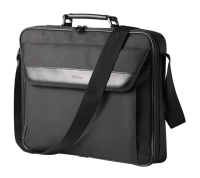 "Trust Atlanta 17"" Black Notebook Bag"
