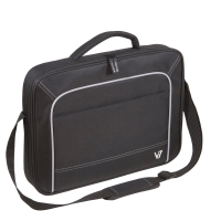 "V7 Vantage 17"" Black Notebook Bag"
