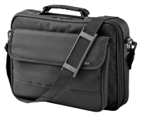 "Trust 17"" Black Notebook Bag"