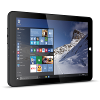 "Linx 1010B 10"" Black Tablet with Windows 10"